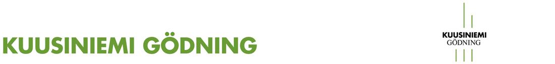Kuusiniemi Gödning Logotyp